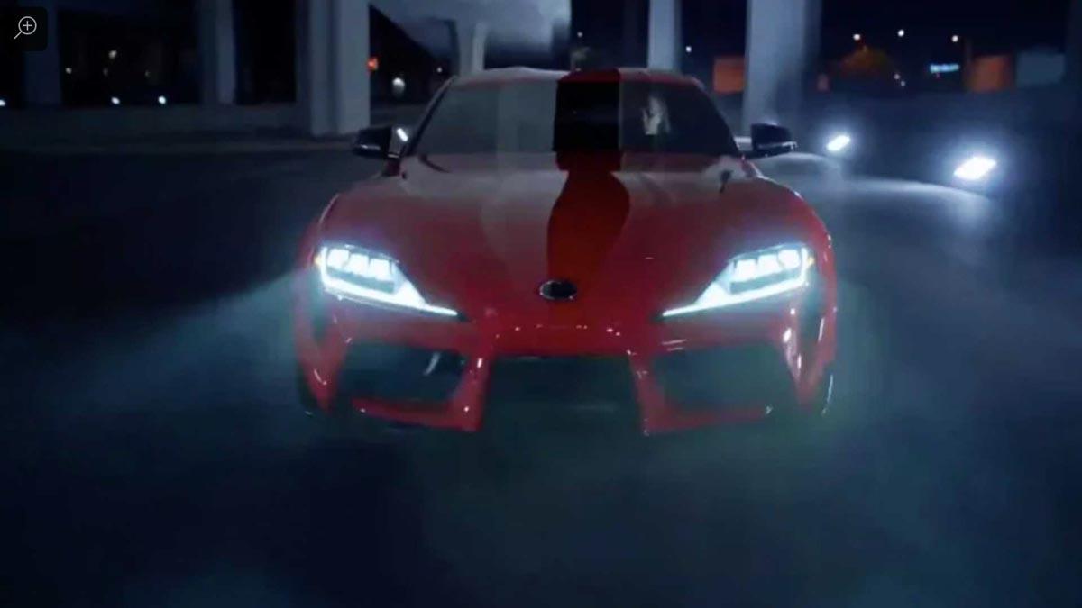 Photo of Η νέα Toyota Supra στο πρώτο της βίντεο [leak]
