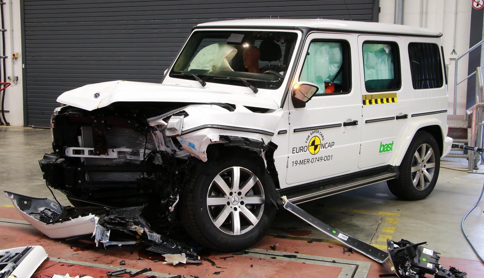 Photo of Euro NCAP: Πως τα πήγαν τα Mercedes G-Class, Seat Tarraco και Honda CR-V;