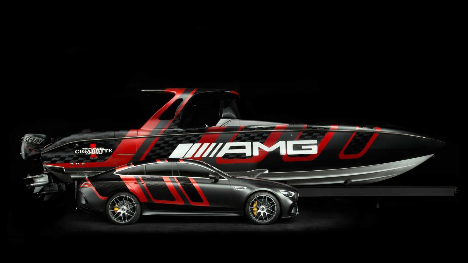 Photo of Στο Μαϊάμι το Cigarette Racing 41 AMG Carbon Edition