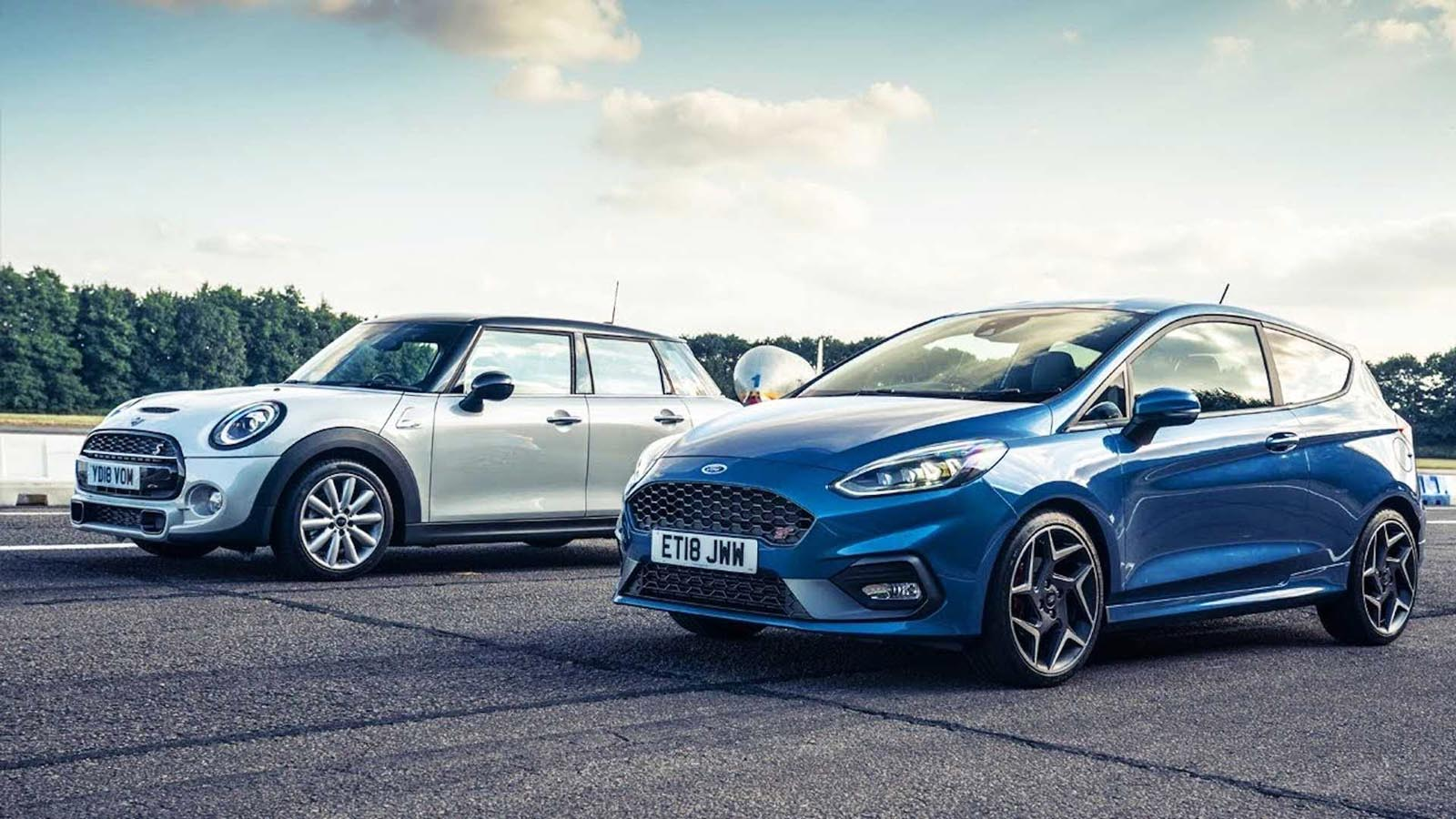 Photo of Ford Fiesta ST vs Mini Cooper S: Ποιο είναι πιο γρήγορο; [vid]