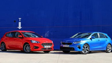 Photo of Ford Focus 1.0 EcoBoost vs Kia Ceed 1.4 T-GDi [test drive]