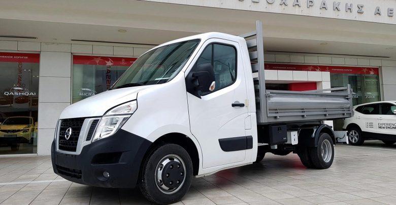 Photo of Φορτηγό NV400 με ανατρεπόμενη καρότσα φόρτωσης, από τη Nissan Νικ. Ι. Θεοχαράκης Α.Ε.