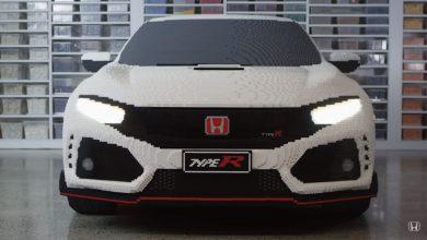 Photo of Ένα Honda Civic Type-R φτιαγμένο από Lego! [vid]
