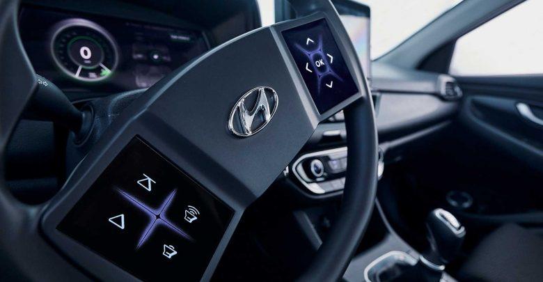 Photo of Πρωτότυπο τιμόνι με επιφάνειες αφής αντί για διακόπτες από την Hyundai [vid]