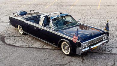 Photo of Στο σφυρί η Lincoln Continental του Κένεντι