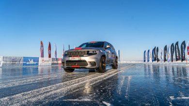 Photo of To Jeep Grand Cherokee Trackhawk είναι το ταχύτερο SUV στον πάγο [vid]