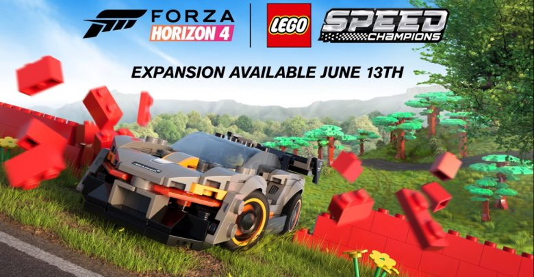 Photo of Η McLaren Senna στο Forza Horizon 4 Lego expansion [vid]