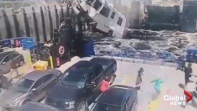 Photo of Δυστύχημα που σοκάρει, σε φέρι μποτ [vid]