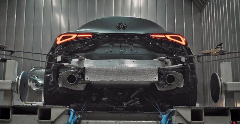 Photo of Απίστευτος ήχος Akrapovic από μία Toyota Supra [vid]