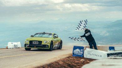 Photo of Η Bentley Continental GT είναι το ταχύτερο μοντέλο παραγωγής στο Pikes Peak