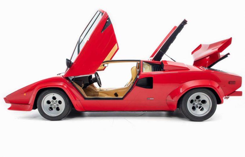 Κούκλα η Lamborghini Countach του Mario Andretti