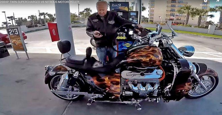 Photo of Απίστευτη μοτοσικλέτα με V8 από Corvette [vid]