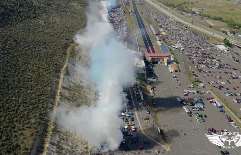 Φωτιά στην άσφαλτο βάζουν ταυτόχρονα 170 αυτοκίνητα! [vid]