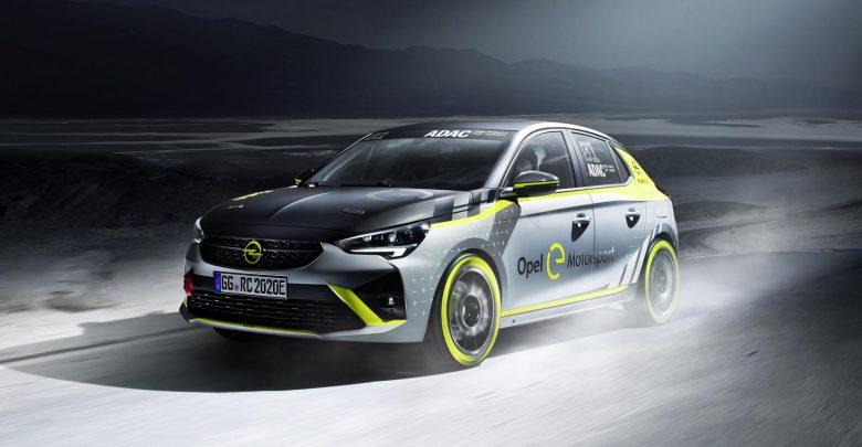 Photo of Η Opel παρουσιάζει το πρώτο της αγωνιστικό ηλεκτρικό για το ενιαίο ADAC Opel e-Rally Cup