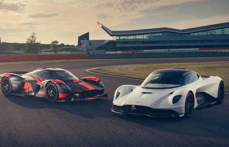 Οι Aston Martin Valkyrie και Valhalla στο Silverstone [vid]