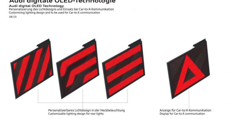 Photo of Τα πίσω φώτα της Audi θα προειδοποιούν με σχήματα