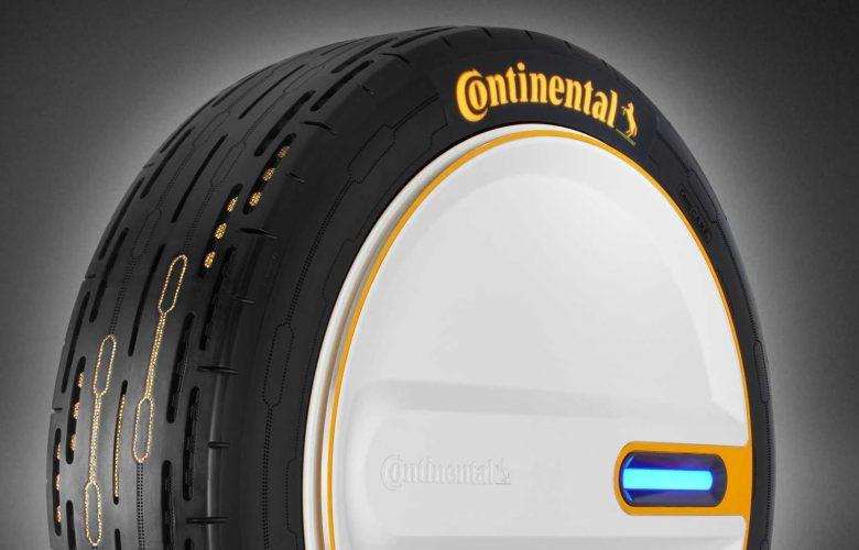 Η Continental παρουσιάζει το ελαστικό του αύριο
