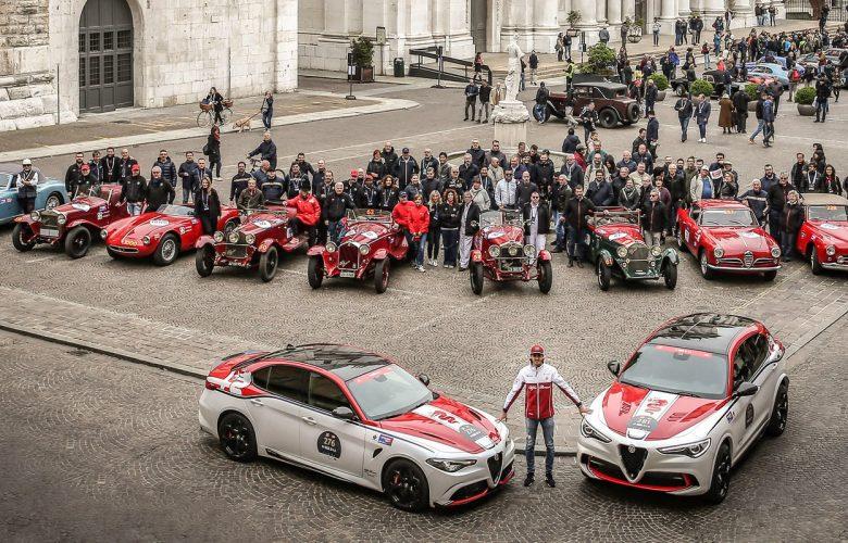 Η Alfa Romeo συνεχίζει να υποστηρίζει το «1000 Miglia»