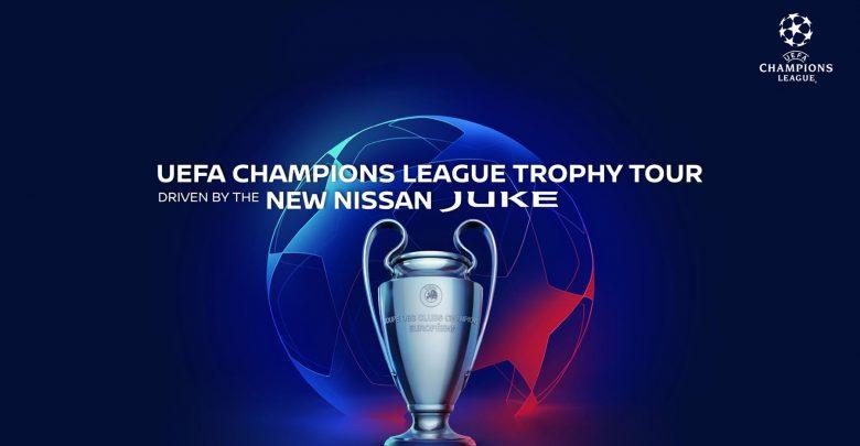 Photo of Το νέο Nissan JUKE έκανε ντεμπούτο στο UEFA Champions League Trophy Tour