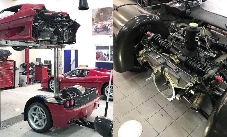 Photo of Πόσο δύσκολη είναι η επισκευή μίας Ferrari F50; [vid]