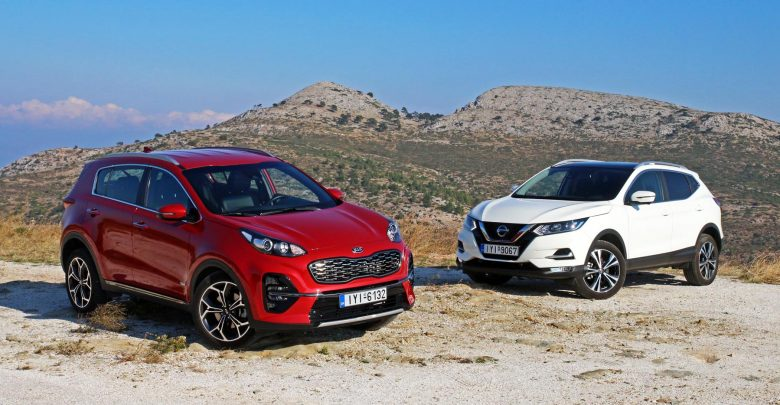 Photo of Kia Sportage 1.6 Diesel 48V Hybrid vs Nissan Qashqai 1.7 dCi 4×4 [test drive]
