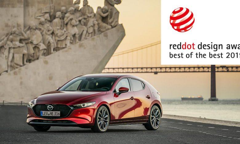 """Photo of Tο Mazda 3 διακρίθηκε με το φετινό βραβείο Red Dot """"Best of the Best"""""""