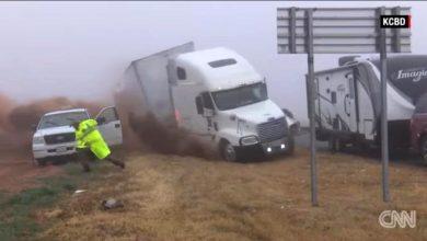 Photo of Τρομακτικό ατύχημα στο Τέξας με νταλίκα [vid]