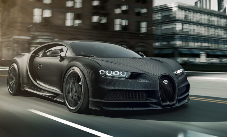 Photo of Φουλ στο ανθρακόνημα οι κατράμι Bugatti Chiron Noire!
