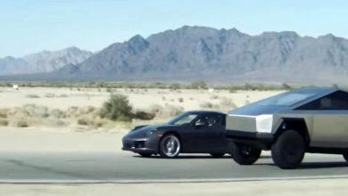 Photo of To Tesla Cybertruck είναι ταχύτερο ακόμη και από μία Porsche 911 (video)