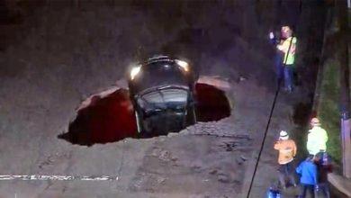 Photo of Την κατάπιε ο δρόμος και αποζημιώθηκε με 4 εκατομμύρια δολάρια [vid]