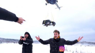 Photo of Ρώσος πέταξε την Mercedes του από ελικόπτερο για να διαμαρτυρηθεί [vid]