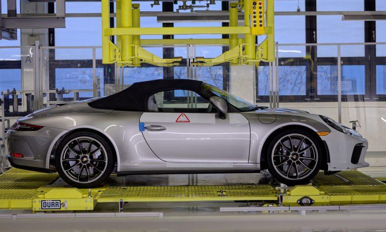 Photo of Ολοκληρώθηκε ο κύκλος παραγωγής της απερχόμενης Porsche 911