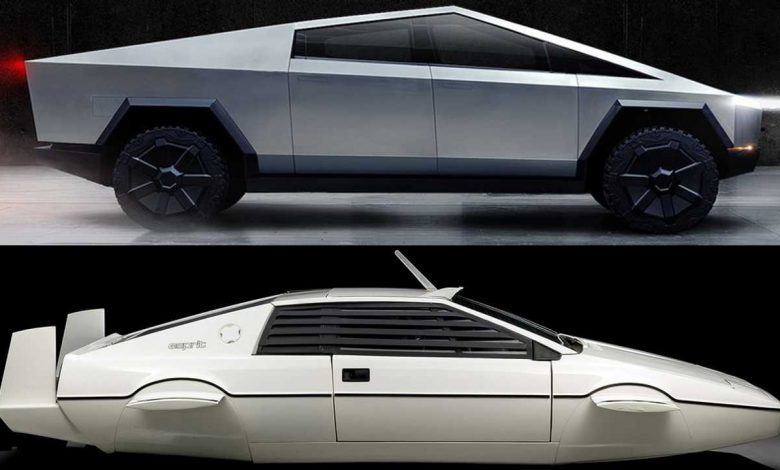 Photo of Πηγή έμπνευσης για το Tesla Cybertruck ήταν η υποβρύχια Lotus Esprit