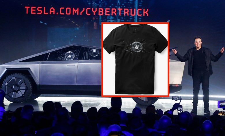 Photo of Ανάρπαστα τα μπλουζάκια με τα σπασμένα κρύσταλλα του Tesla Cybertruck!