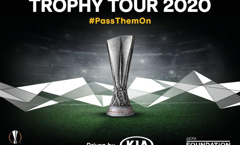 Photo of Το «UEFA Europa League Trophy Tour Driven by Kia» επιστρέφει μέσα στο 2020