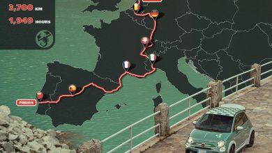 Photo of Ο γύρος της Δυτικής Ευρώπης σε 1.949 ώρες με το συλλεκτικό Abarth 695 70° Anniversario!
