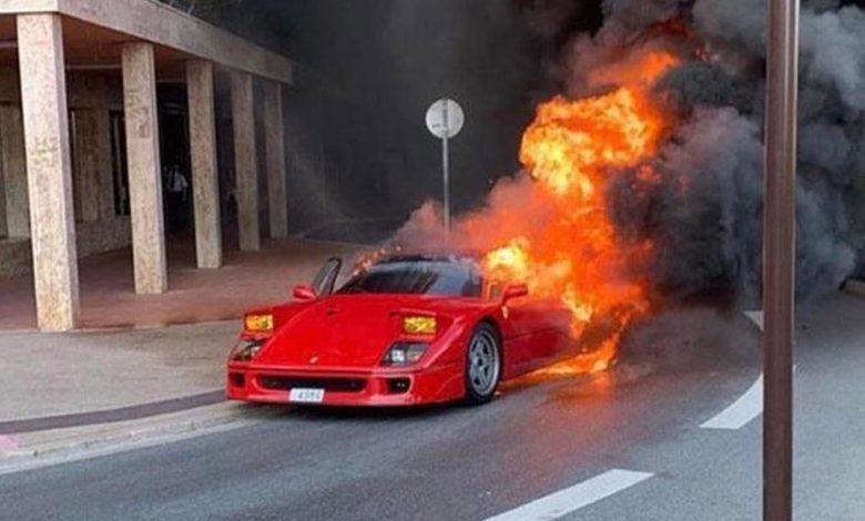 Photo of Παρανάλωμα του πυρός μια Ferrari F40 στο Μονακό [vid]