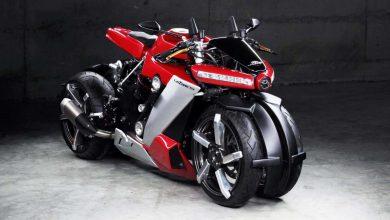Photo of Η Lazareth LM 410 είναι μια custom τετράτροχη μοτοσικλέτα