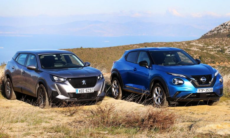 Photo of Nissan Juke 1.0 vs Peugeot 2008 1.2 [test drive]