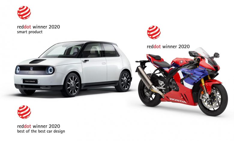 Photo of Honda: Νέα διάκριση με τρία βραβεία σχεδίασης Red Dot