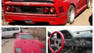 Photo of Σε ποιον ανήκε αυτή η παρατημένη Ferrari F40;