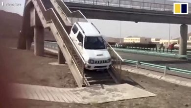 Photo of Δείτε ένα Suzuki Jimny να κάνει αναστροφή… από μία πεζογέφυρα [vid]