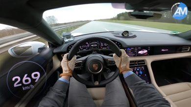 Photo of Καταιγιστική η Porsche Taycan Turbo S στην Autobahn [vid]