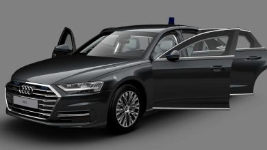 Photo of To Audi A8 L είναι μακρύ και θωρακισμένο