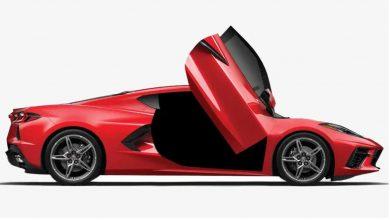 Photo of Πόρτες αλά Lamborghini για την Corvette C8 Stingray