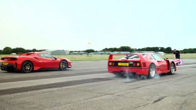Photo of Πόσο μεγάλη είναι η διαφορά ανάμεσα στην εμβληματική Ferrari F40 και την σύγχρονη 488 Pista Spider; [vid]