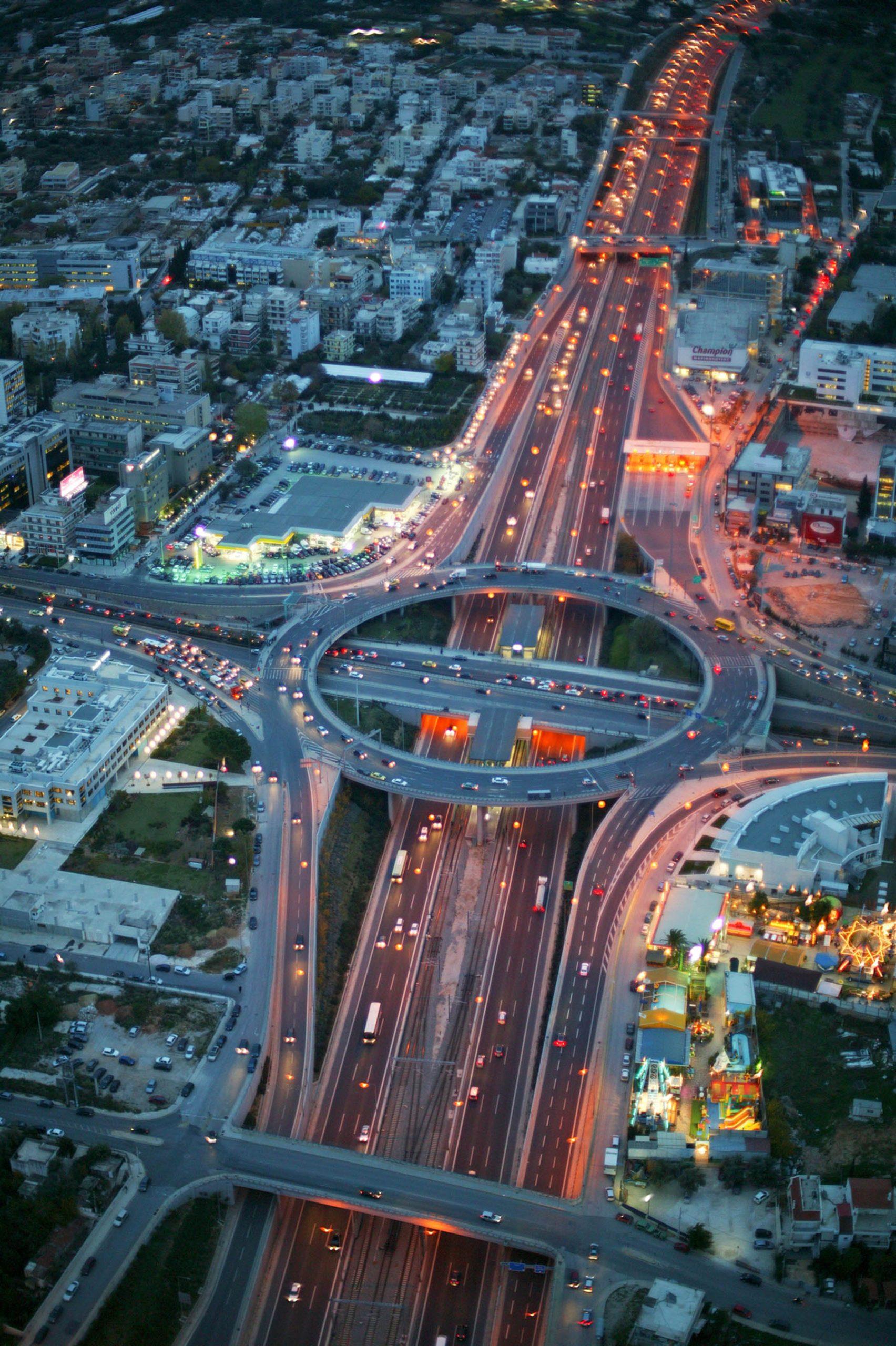 Κατά 37,5% αυξημένη η κυκλοφορία στις κεντρικές οδικές αρτηρίες της Αττικής μεταξύ του πρώτου και δεύτερου lockdown