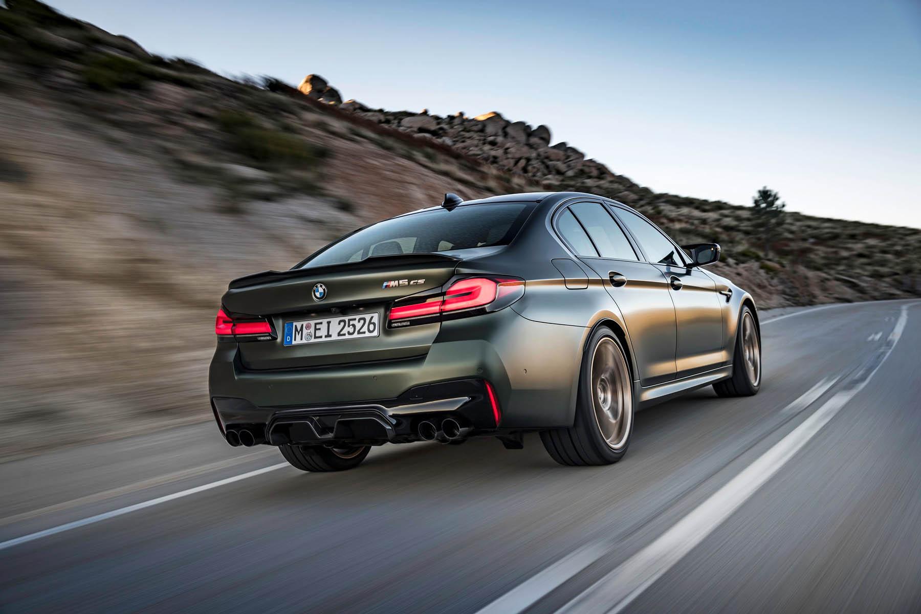Η νέα BMW M5 CS των 635 ίππων είναι η ισχυρότερη όλων