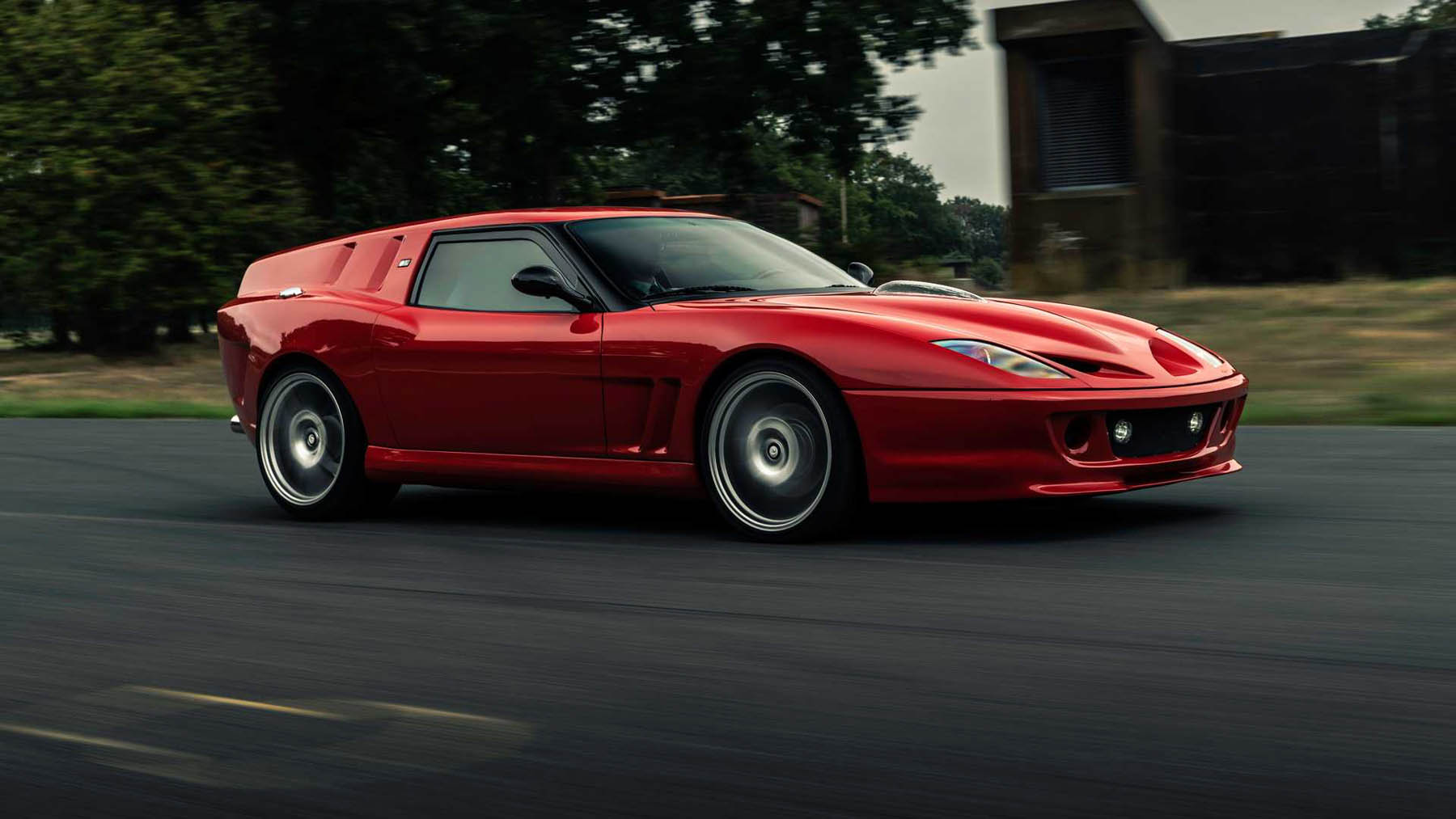 Η Ferrari Breadvan Hommage είναι ένα από τα πιο άσχημα αυτοκίνητα [vid]