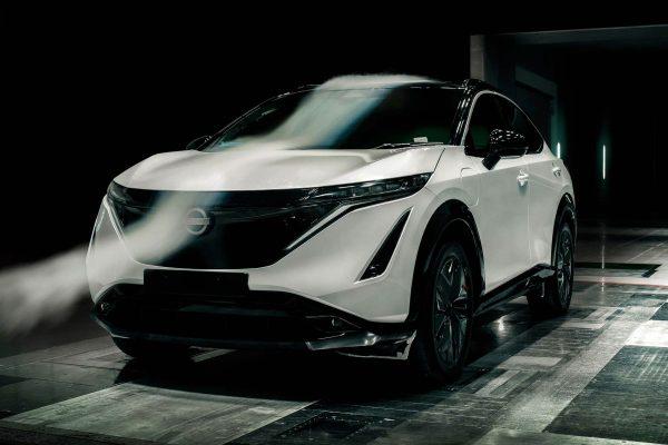 Nissan Ariya Aerodynamics 2